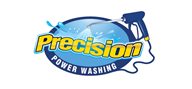 Logoinn created this logo for Precision Power Washing - who are in the Cleaning Services Logo Design  Sectors