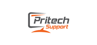 Logoinn created this logo for Pritech Support - who are in the Other Logo  Sectors