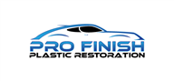 Logoinn created this logo for Pro Finish Plastic Restoration - who are in the Automotive Logo Design  Sectors