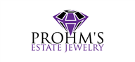 Logoinn created this logo for Prohm's Estate Jewelry - who are in the Jewelry Logo Design  Sectors