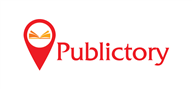 Logoinn created this logo for Publictory - who are in the Publishing Logo  Sectors