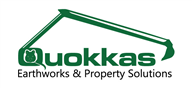 Logoinn created this logo for Quokka earthworks  - who are in the Landscape Logo Design  Sectors