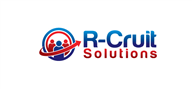 Logoinn created this logo for R-Cruit Solutions - who are in the Recruitment Logo Design  Sectors