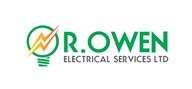 Logoinn created this logo for R. Owen Electrical Services Ltd - who are in the Engineering Services Logo Design  Sectors
