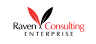 Logoinn created this logo for Raven Consulting Enterprise  - who are in the Education Logo Design  Sectors
