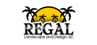 Logoinn created this logo for Regal Landscape and Design - who are in the Landscape Logo Design  Sectors