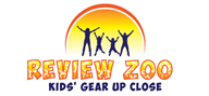 Logoinn created this logo for Review Zoo - who are in the Kids Logo  Sectors