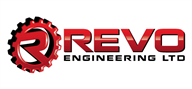 Logoinn created this logo for Revo Engineering Ltd - who are in the Engineering Services Logo Design  Sectors