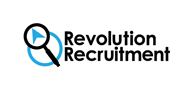 Logoinn created this logo for Revolution Recruitment Limited - who are in the Recruitment Logo Design  Sectors