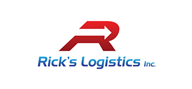 Logoinn created this logo for Rick's Logistics, Inc. - who are in the Transportation Logo Design  Sectors