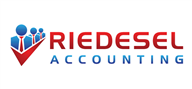 Logoinn created this logo for Riedesel Accouting LLC - who are in the Accountancy Firm Logo Design  Sectors