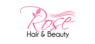 Logoinn created this logo for Rose hair and beauty  - who are in the Hair Logo Design  Sectors