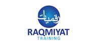 Logoinn created this logo for Rraqmiyat training - who are in the Arabic Logo Design  Sectors