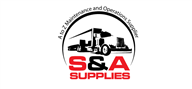 Logoinn created this logo for S & A Supplies - who are in the Industrial Logo Design  Sectors