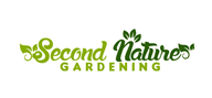 Logoinn created this logo for Second Nature Gardening - who are in the Landscape Logo Design  Sectors