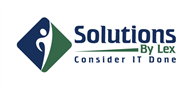 Logoinn created this logo for Solutions By Lex - who are in the Consulting Logo Design  Sectors