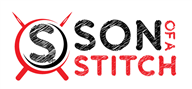 Logoinn created this logo for Son of a stitch - who are in the Apparel Logo Design  Sectors