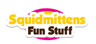 Logoinn created this logo for Squidmittens Fun Stuff - who are in the Kids Logo  Sectors