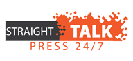 Logoinn created this logo for Straight Talk Press 24/7 - who are in the Media Logo Design  Sectors