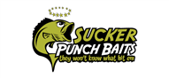 Logoinn created this logo for Sucker Punch Baits - who are in the Outdoor Logo Design  Sectors