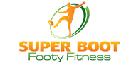 Logoinn created this logo for Super Boot Footy Fitness - who are in the Fitness Logo Design  Sectors