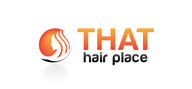 Logoinn created this logo for THAT hairplace - who are in the Salon Logo Design  Sectors