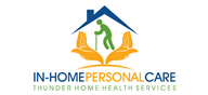 Logoinn created this logo for THUNDER HOME HEALTH - who are in the Medical Logo  Sectors
