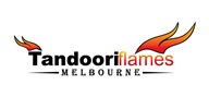 Logoinn created this logo for Tandoori Flames Melbourne - who are in the Cafes Logo Design  Sectors