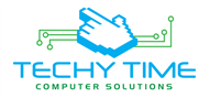 Logoinn created this logo for Techy Time - who are in the IT Logo Design  Sectors