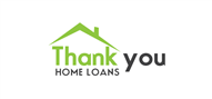 Logoinn created this logo for Thank you Home Loans - who are in the Finance Logo Design  Sectors