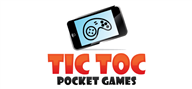Logoinn created this logo for Tic Toc Pocket Games - who are in the Games Logo Design  Sectors