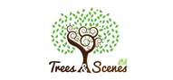 Logoinn created this logo for Treesandscenes Ltd - who are in the Landscape Logo Design  Sectors
