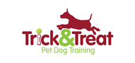 Logoinn created this logo for Trick and Treat Pet Dog Training Solutions - who are in the Pet Logo Design  Sectors