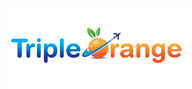 Logoinn created this logo for Tripple Orange - who are in the Tourism Logo  Sectors