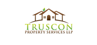 Logoinn created this logo for Truscon Property Services LLP - who are in the Real Estate Logo Design  Sectors