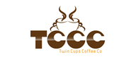 Logoinn created this logo for Twin Cups Coffee Co. - who are in the Food Logo Design  Sectors