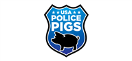 Logoinn created this logo for USA Police Pigs - who are in the Government Logo Design  Sectors