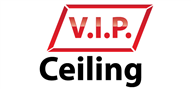 Logoinn created this logo for V.I.P.Ceiling - who are in the Construction Logo Design  Sectors