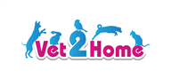 Logoinn created this logo for Vet 2 Home - who are in the Veterinary Logo Design  Sectors