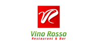 Logoinn created this logo for Vino Russo Restaurant & Bar - who are in the Cafes Logo Design  Sectors