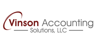 Logoinn created this logo for Vinson Accounting Solutions, LLC - who are in the Accounting Logo Design  Sectors