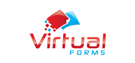 Logoinn created this logo for Virtual Forms - who are in the IT Logo Design  Sectors