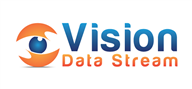 Logoinn created this logo for Vision Data Stream - who are in the Networking Logo Design  Sectors