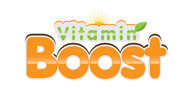 Logoinn created this logo for Vitamin Boost - who are in the Fitness Logo Design  Sectors