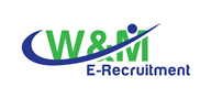 Logoinn created this logo for W&M E-Recruitment - who are in the Recruitment Logo Design  Sectors