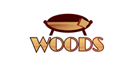 Logoinn created this logo for WOODS FURNITURE - who are in the Furniture Logo Design  Sectors