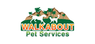 Logoinn created this logo for Walkabout Pet Services - who are in the Veterinary Logo Design  Sectors