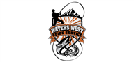Logoinn created this logo for Waters West Guide Service - who are in the Outdoor Logo Design  Sectors
