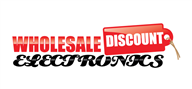 Logoinn created this logo for Wholesale Discount Electronics - who are in the Wholesale Logo Design  Sectors