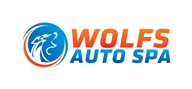 Logoinn created this logo for Wolfs Auto Spa - who are in the Spa Logo Design  Sectors